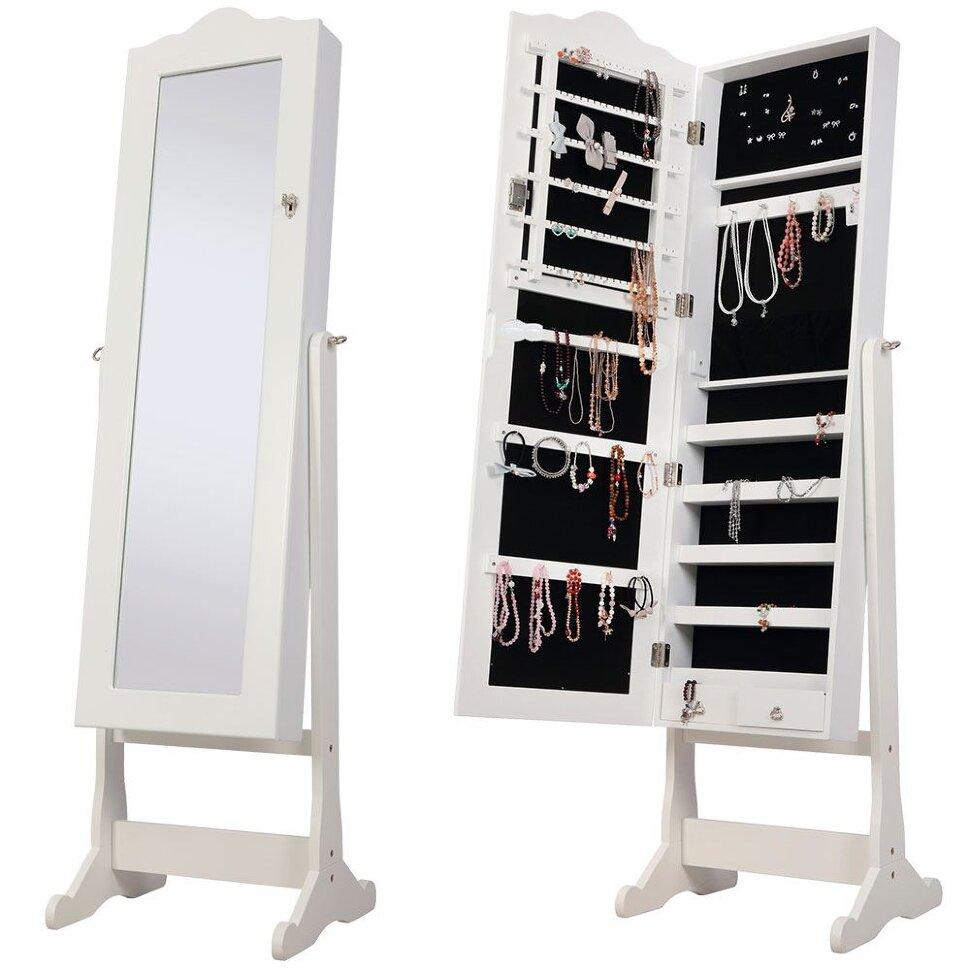 Шкаф для украшений является актуальным предметом, для милых дам!