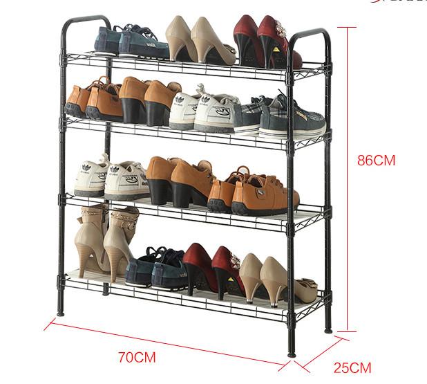 Достоинства металлических полок для обуви от компании Smart Bird